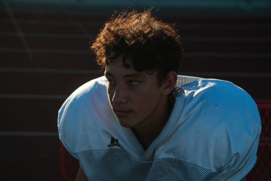 Freshman Christian Kretz will be the Palm Springs starting quarterback for the end of the 2018 season, Wednesday, October 17, 2018.