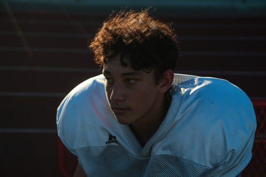 Freshman Christian Kretz will be the Palm Springs starting quarterback for the end of the 2018 season, Wednesday, October 17, 2018.