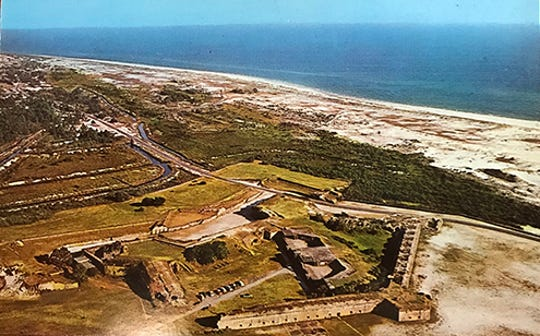 Historic Fort Pickens on Santa Rosa Island.