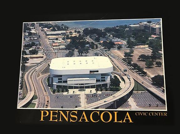 Pensacola Civic Center, 1985.