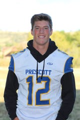 Prescott quarterback is this weeks Boys Athlete of the Week.