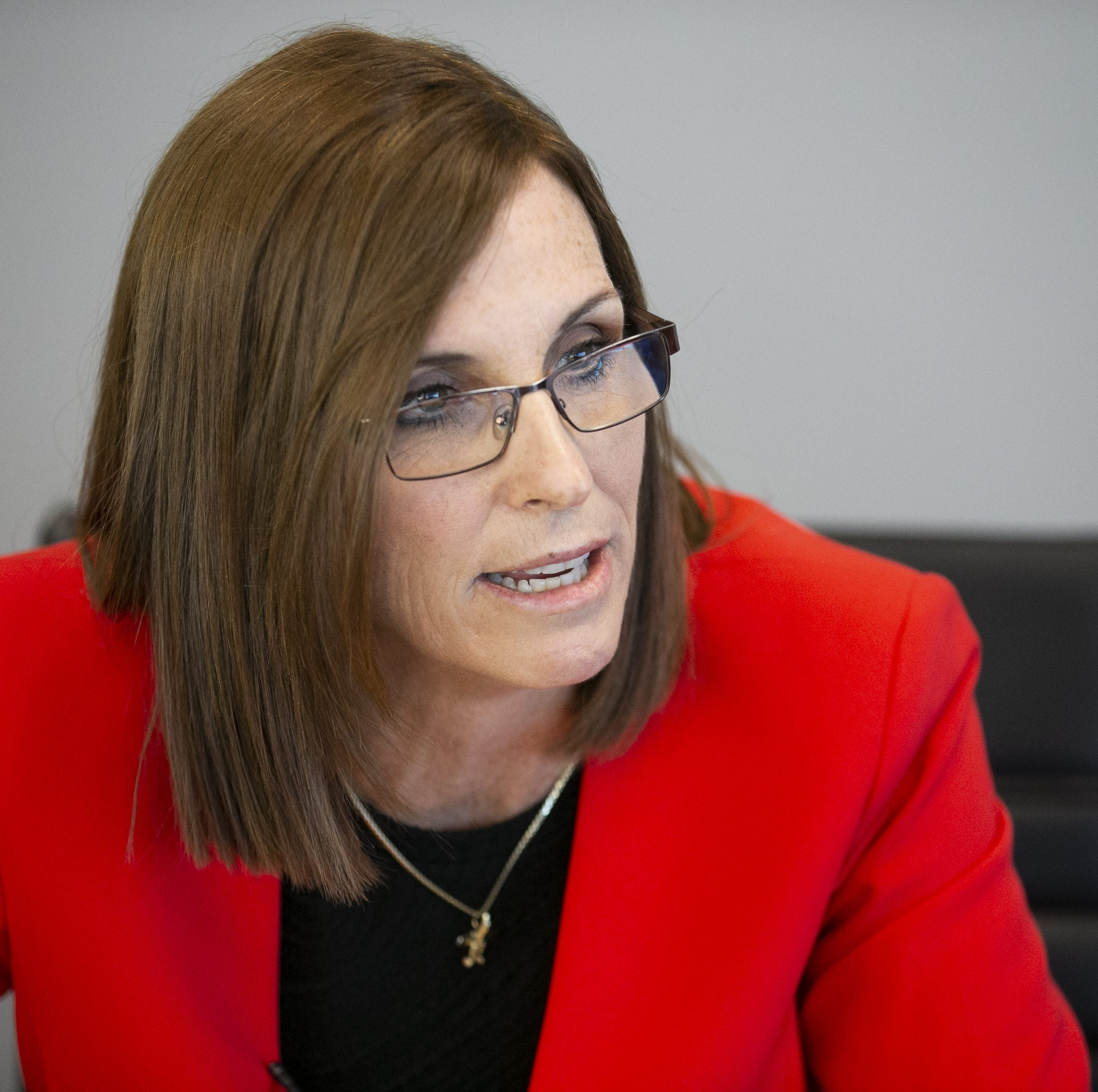 Martha McSally defends 'treason' comment against Kyrsten Sinema