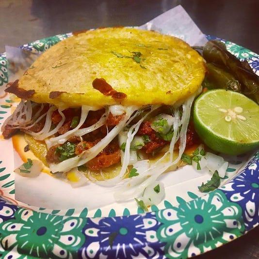 Al Pastor Mulita Tacos Calafia