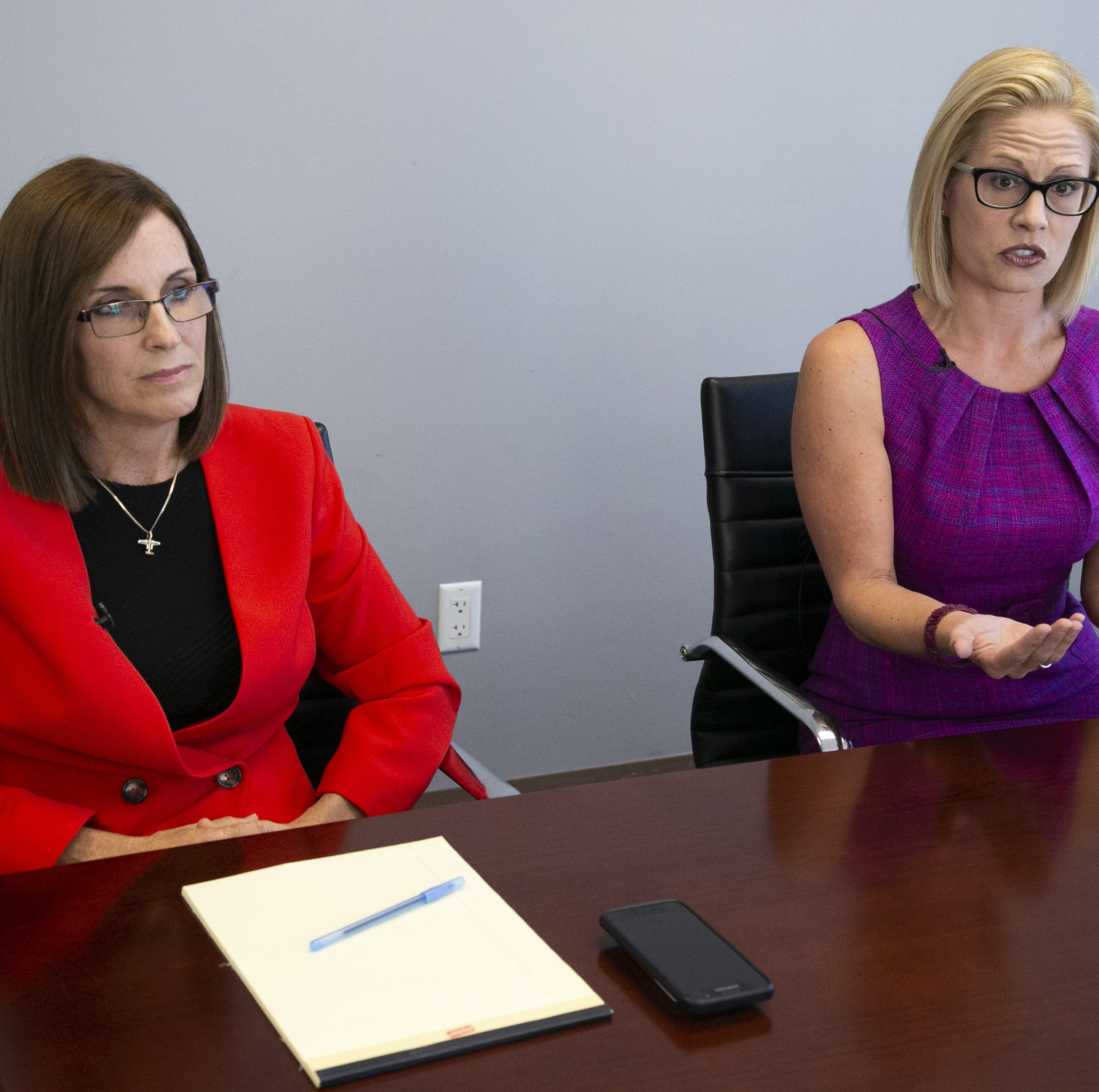Why Martha McSally and Kyrsten Sinema are targeting suburban women