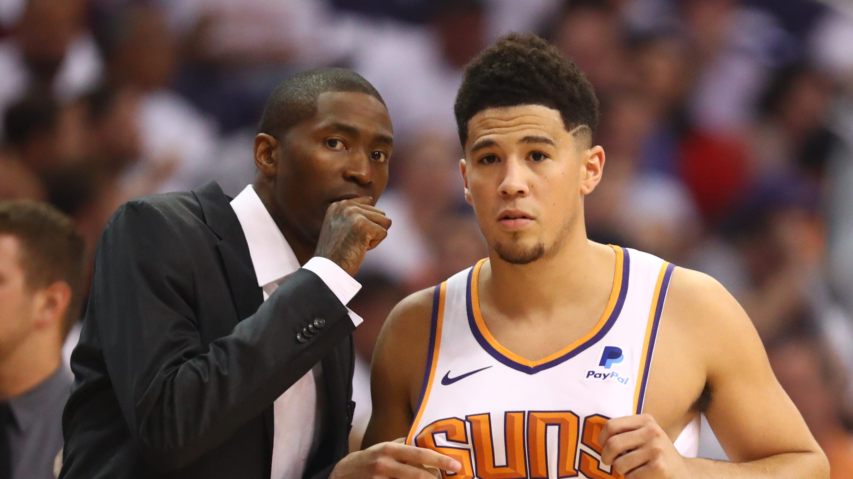 d4add5030ff7 Phoenix Suns  Jamal Crawford joins Tyson Chandler as veteran leaders