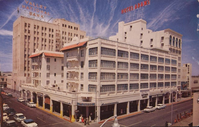 In 1910, the original Hotel Adams burned down and was rebuilt at the same site.