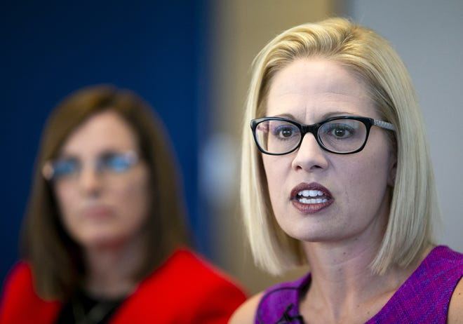 Democrats, including Kyrsten Sinema, are misrepresenting what Republicans actually passed and not leveling with the American people about tough decisions that need to be made.