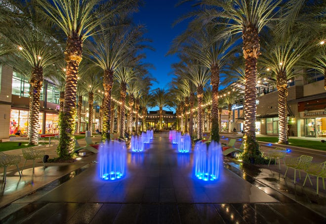 The Quad in Scottsdale Quarter, on Scottsdale Rd and Greenway-Hayden Loop.