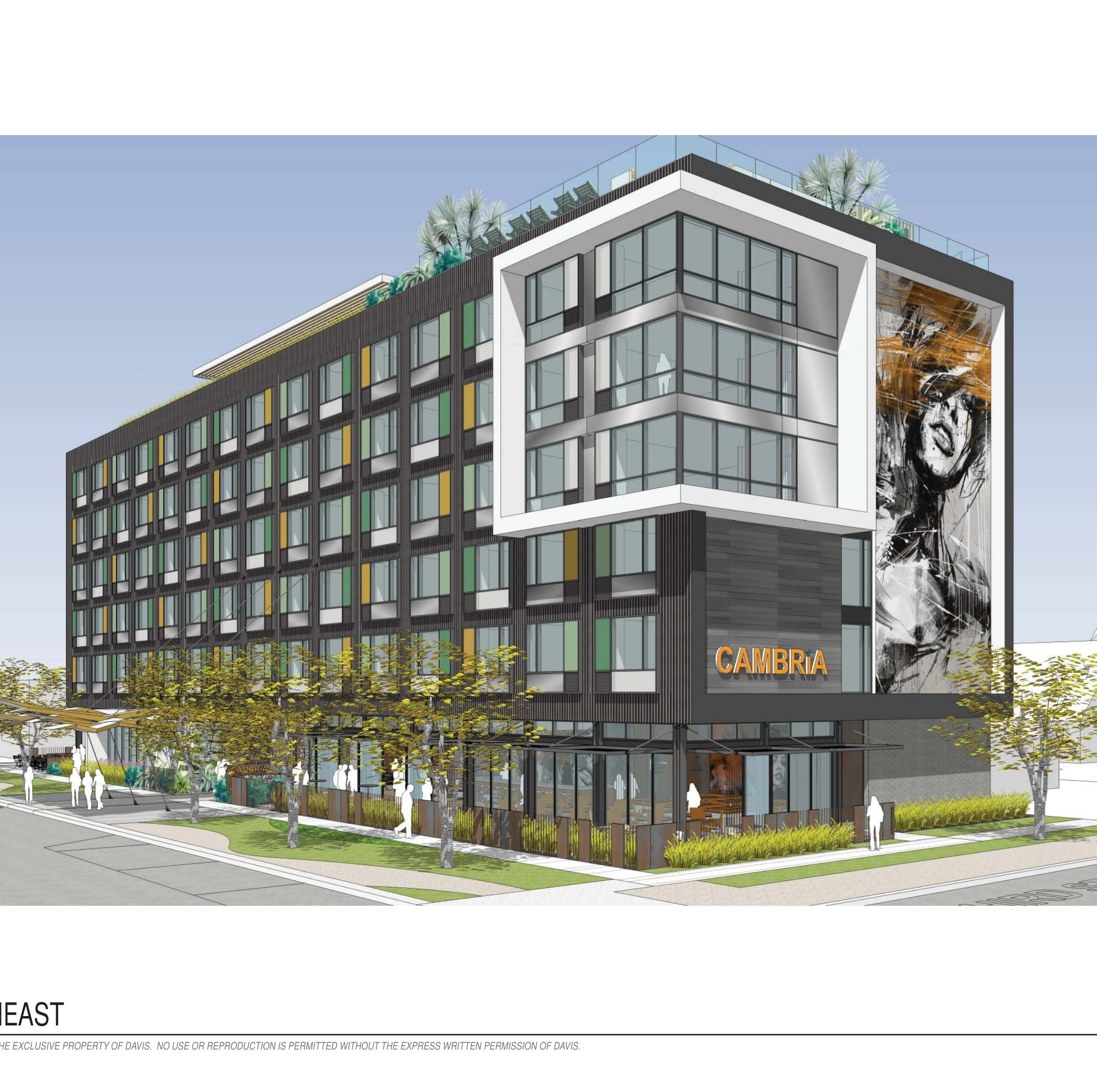 New hotel going up in Phoenix's Roosevelt Row