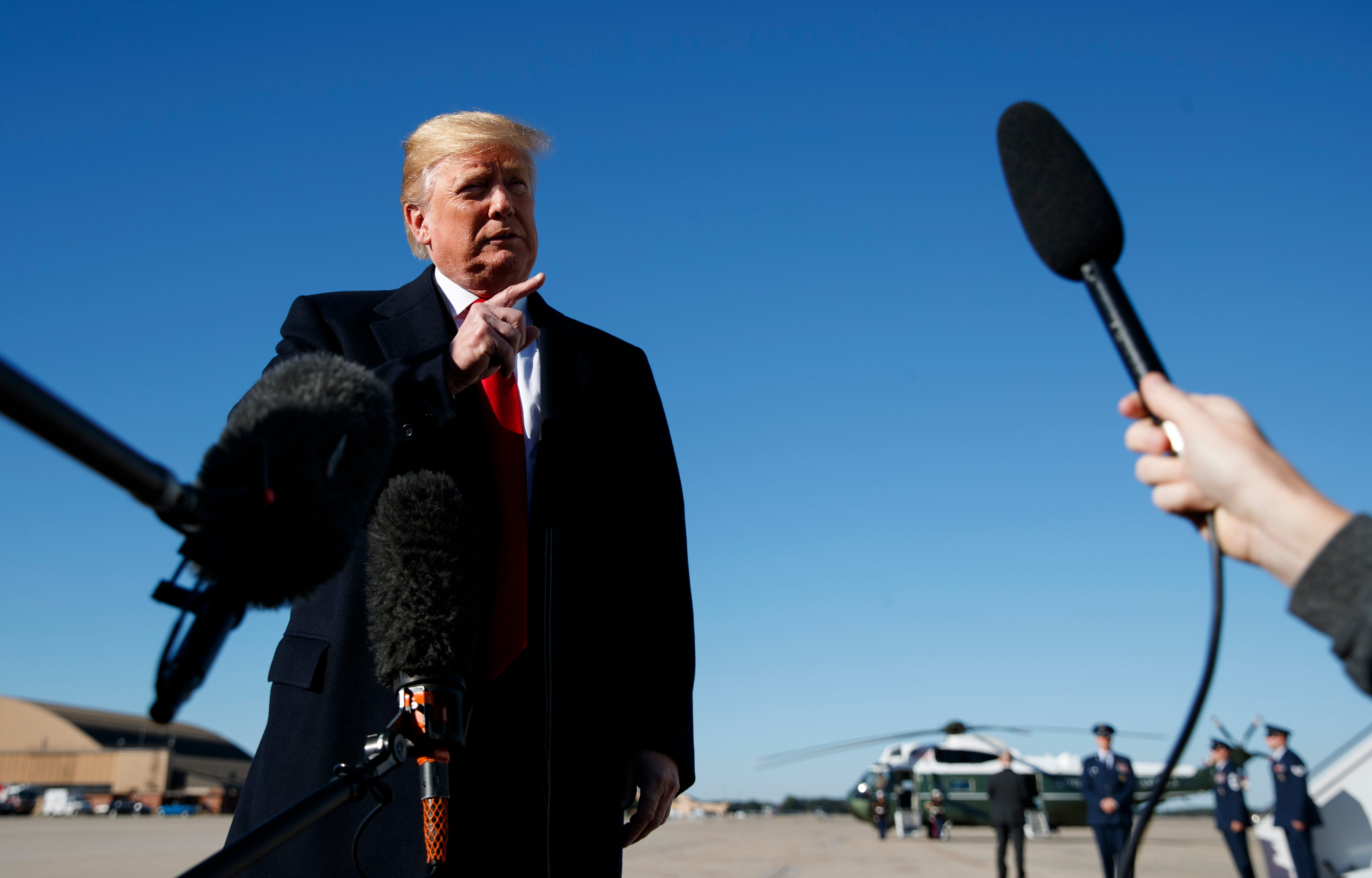 President Donald Trump's campaign visit to Arizona to rally Republicans | Arizona Central