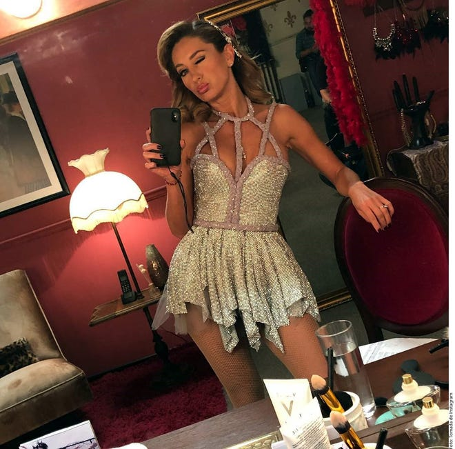 """La actriz Geraldine Bazán publicó en su red social de Instagram un video del backstage de la grabación de la serie """"Falsa Identidad""""."""