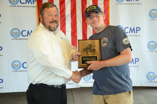 Mark Stout set records in both the Garand and Carbine matches.