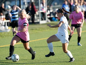 Arlington girls soccer takes down Mahopac in Wednesday's game in Freedom Plains.