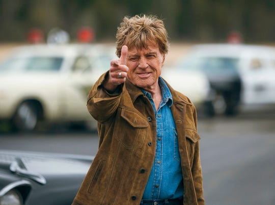 "Robert Redford stars in ""The Old Man & The Gun."" The film opens Friday at R/C Hanover Movies."