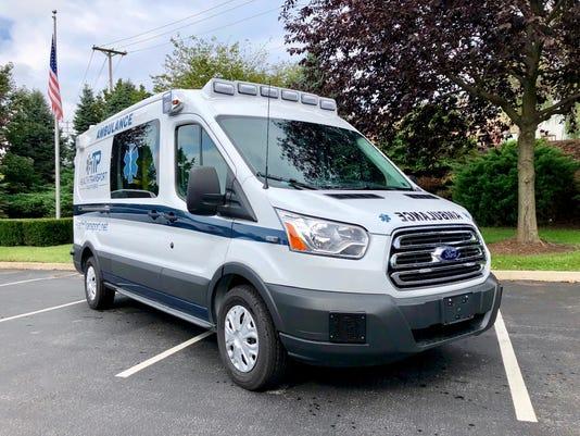 Health Transports Inc. van