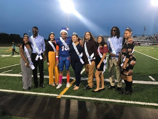 York High's Homecoming Court 2018