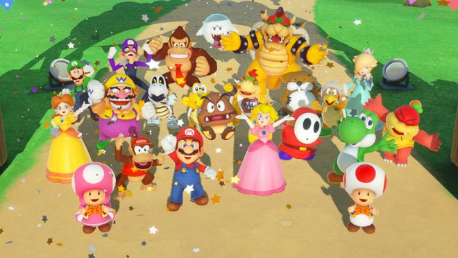 Super Mario Party for the Nintendo Switch.