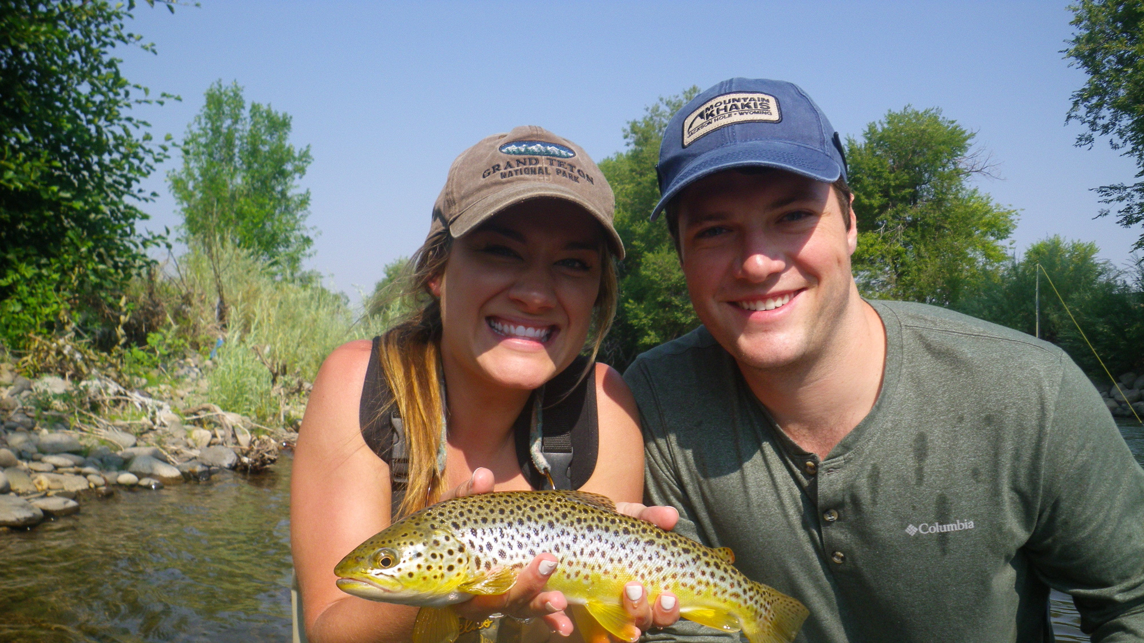Fishing is improving at area lakes and streams.
