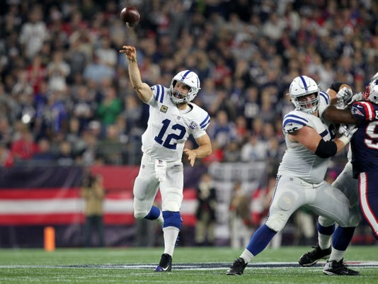 Nfl Indianapolis Colts At New England Patriots