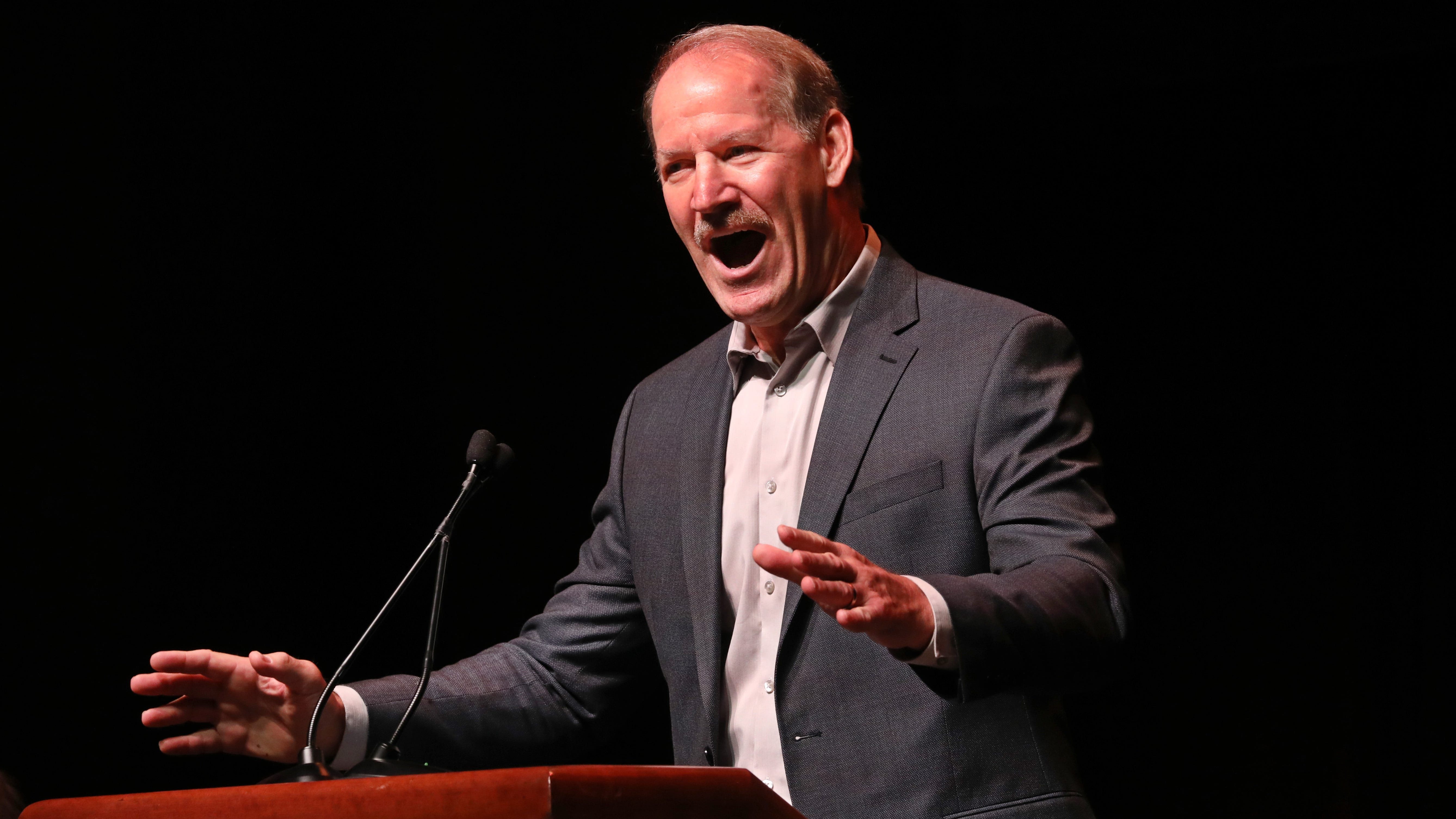 Bill Cowher provides hard-hitting perspective at Compeer luncheon