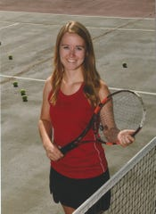 West Valley tennis player Anna Launder was named 2018 Northern Athletic League MVP,  her second consecutive year winning the award.