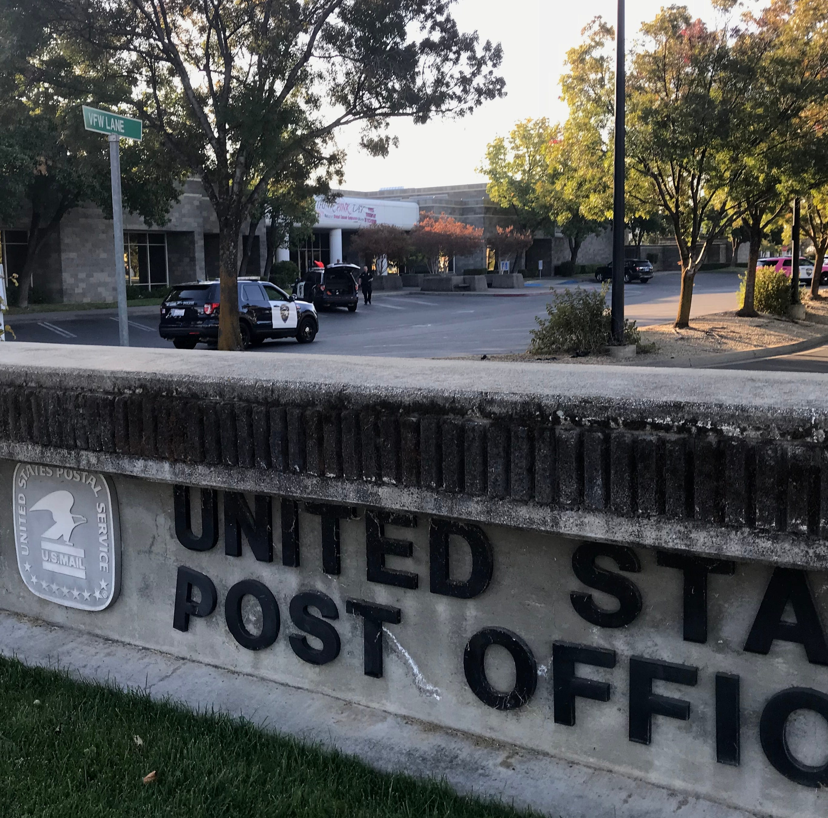 Dud hand grenade poses scare at Redding post office