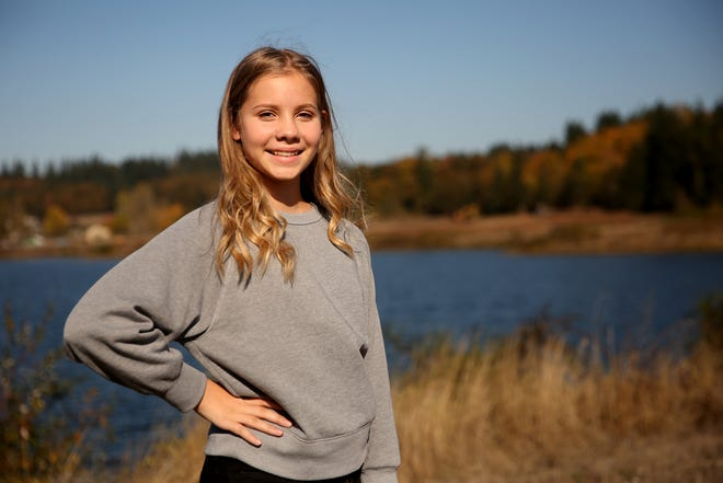 Sophia Sawyer-Terlinder, 14, of Salem, testified this spring in front of the Oregon Parks and Recreation Department in support of developing around Turner Lake. Now, a $392,000 grant has been awarded to build park amenities. Photographed in Turner on Wednesday, Oct. 17, 2018.