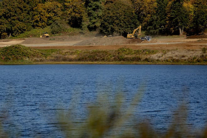 A 50-year-old man died after drowning in Turner Lake Sunday, according to a social media post by Turner Police.