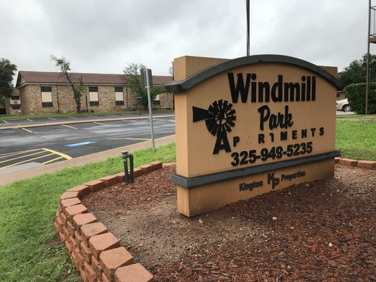 Windmill Park Apartments in northwest San Angelo is thought to be haunted.
