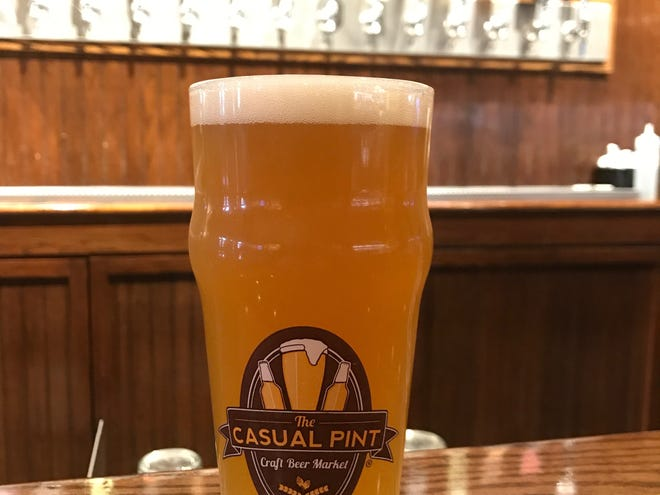 The Casual Pint serves up a various array of craft beers on tap, as seen in this photo from Oct. 18, 2018.