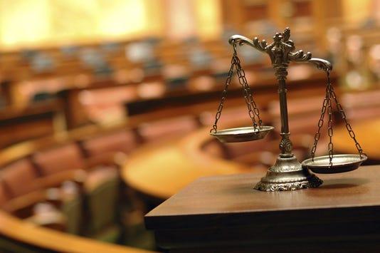 Courtroom Trial Jury Murder