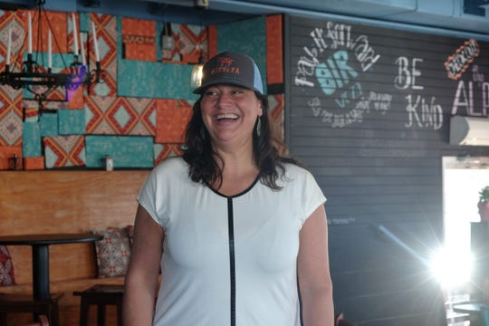 Maria D'Ambrogi opened Sirveza in late July and plans to bust out fresh Mexican food year-round in Dewey Beach.