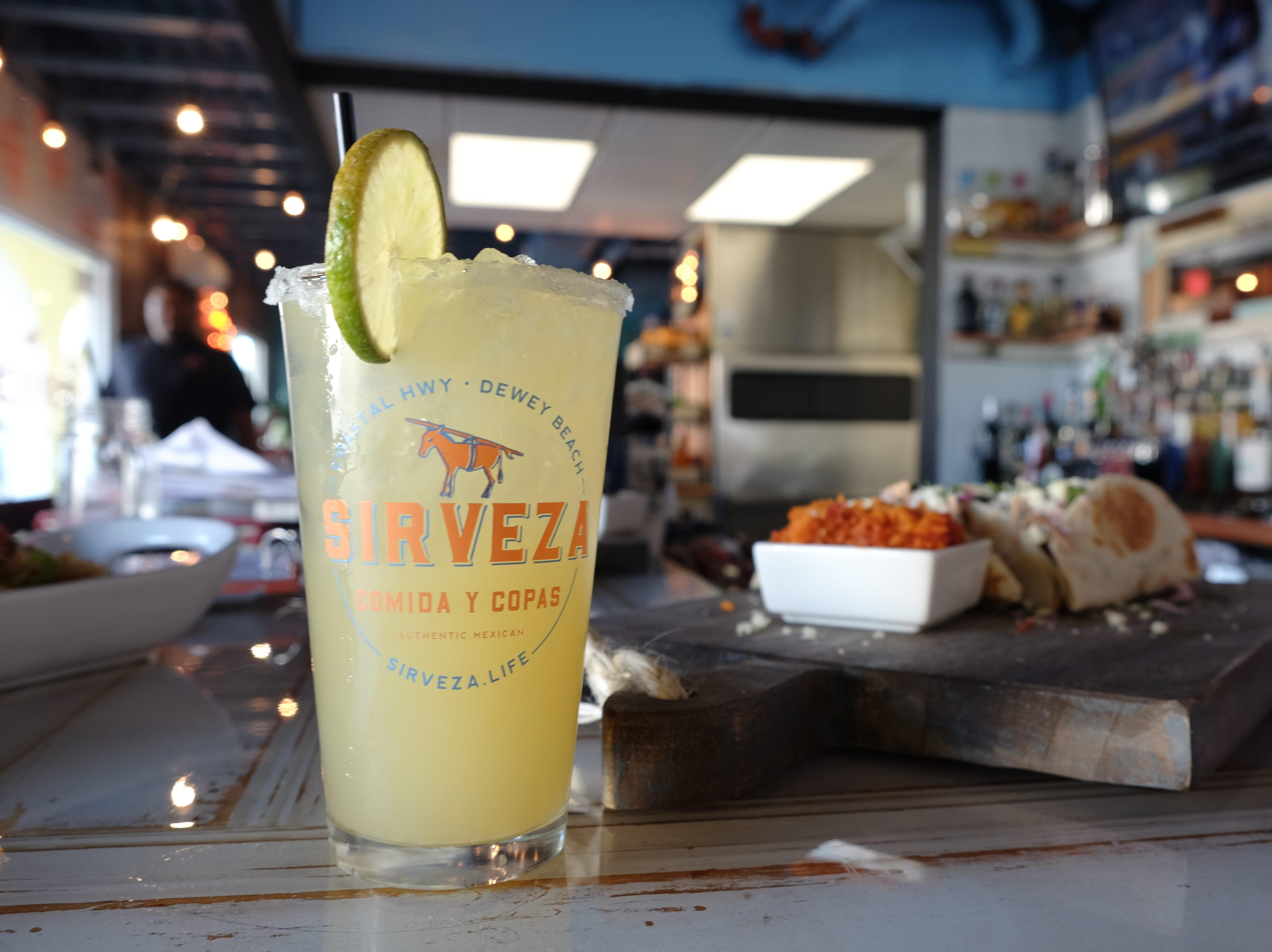 Sirveza, a new Mexican restaurant in Dewey Beach, is known for its margaritas.