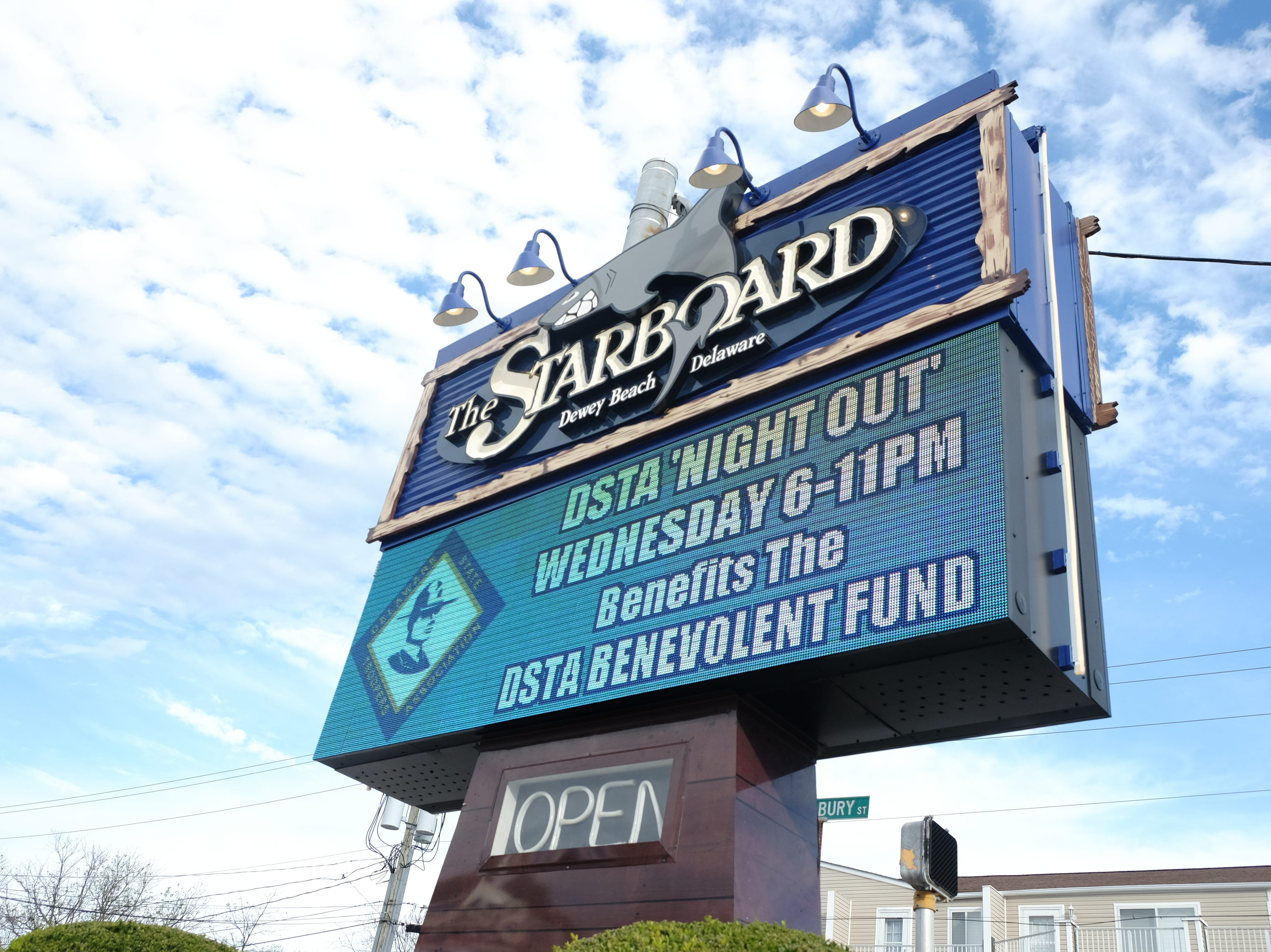 The Starboard in Dewey Beach on Tuesday, Oct. 16.