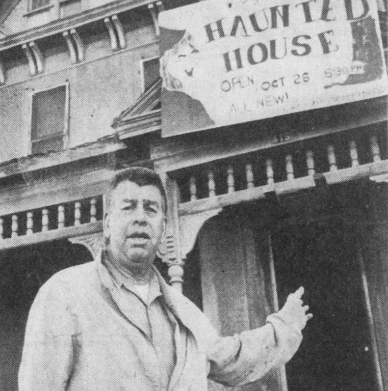 Looking Back: Jaycees' haunted house started in spooky home on Minn. Ave.