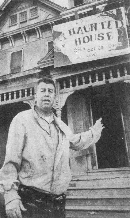 Jaycees Haunted House November 1978 Robert Janssen