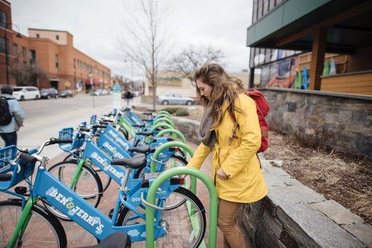Greenride Bike Share Burlington Vt 3