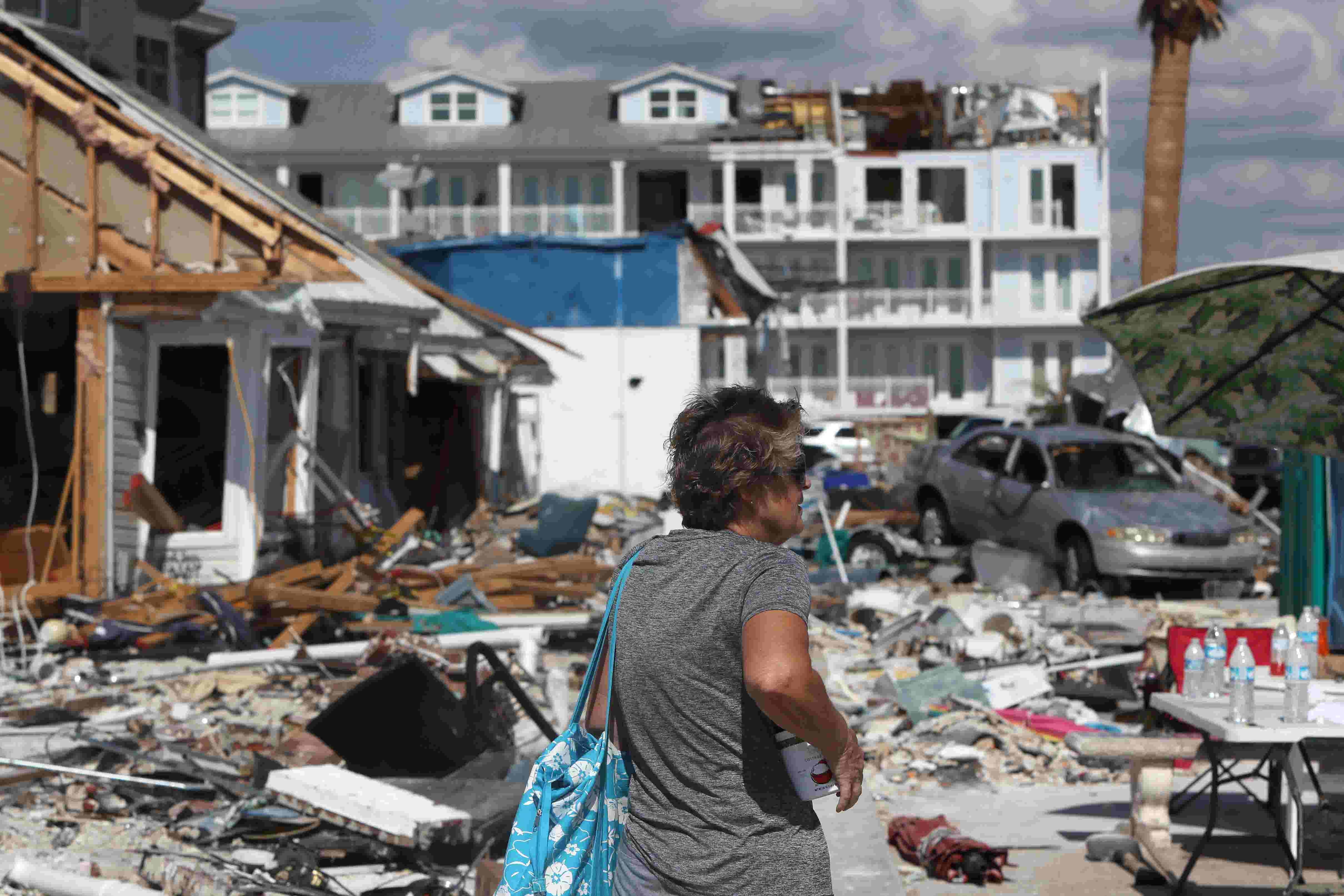 Hurricane Michael's path of destruction through Mexico Beach