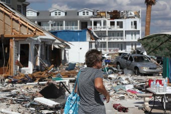 Residents of Mexico Beach describe their town after the strong Category 4 hurricane forced its way through