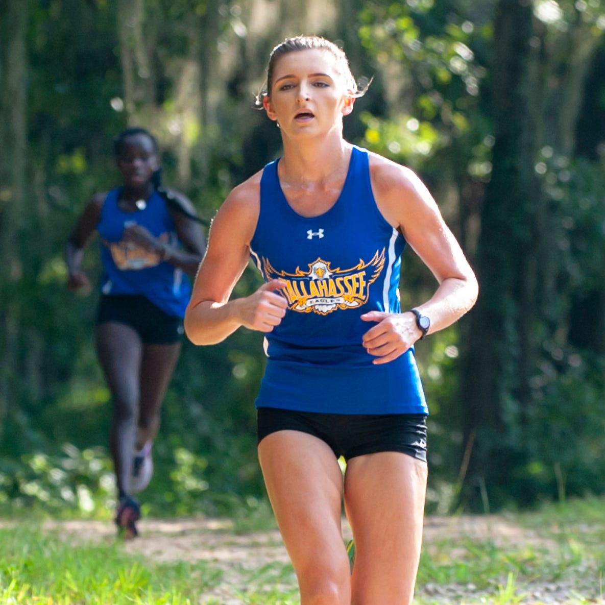 Tallahassee Community College cross country runner Rachel Williams is a native of Blountstown. Calhoun County was devastated by Hurricane Michael. Running with team is helping her cope with the disaster.