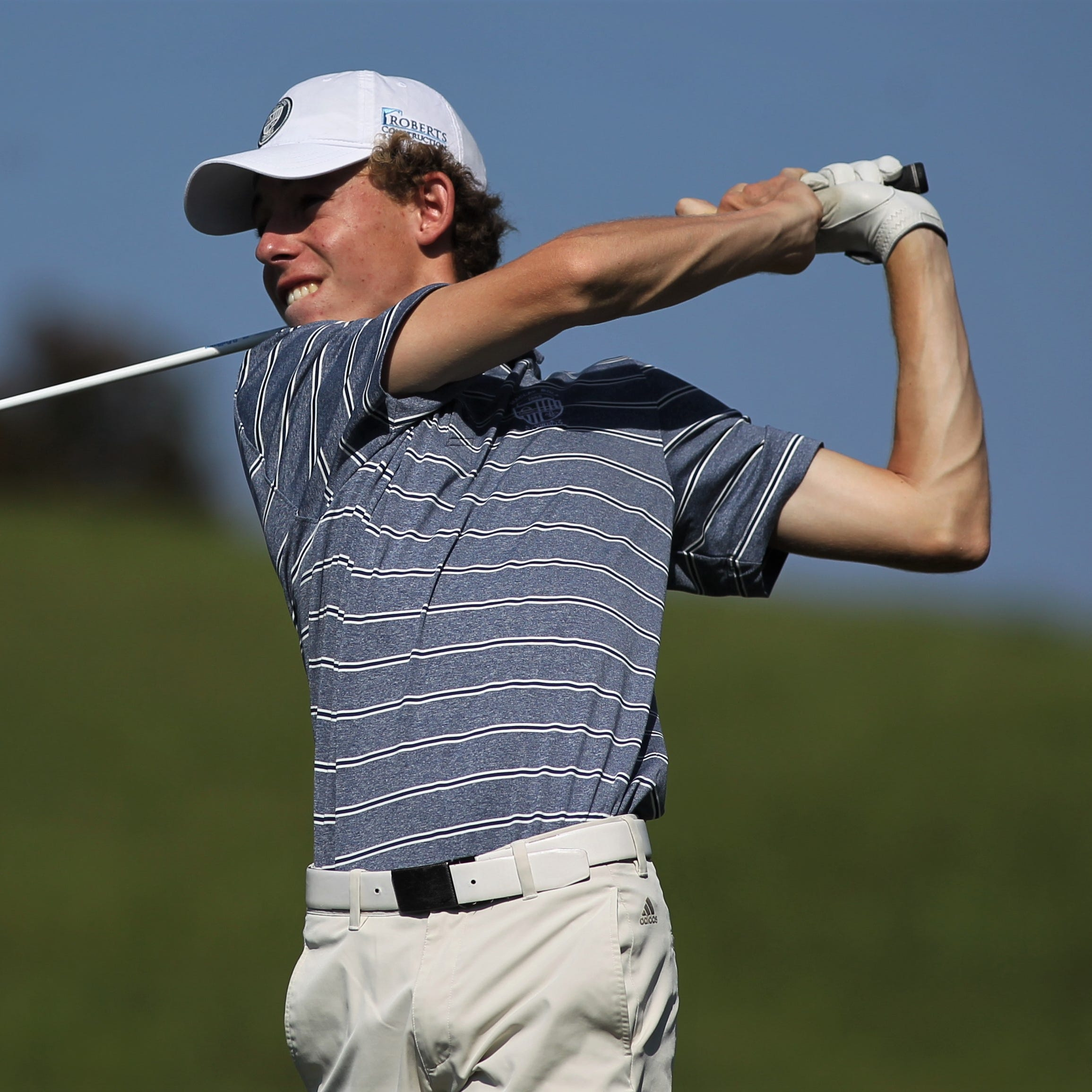 Maclay senior Cole Miller shot a 1-over par 73 during Thursday's District 1-1A title at Southwood Golf Club, good enough for a two-stroke victory.