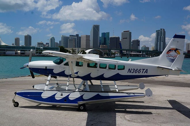 Tropic Ocean Airways is one of two airlines interested in using a seaplane base proposed by the city of Fort Pierce.