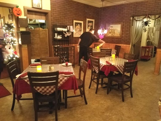 Inside Gigi's Restaurant & Pizzeria at 1322 N.E. Jensen Beach Blvd. in Jensen Beach.
