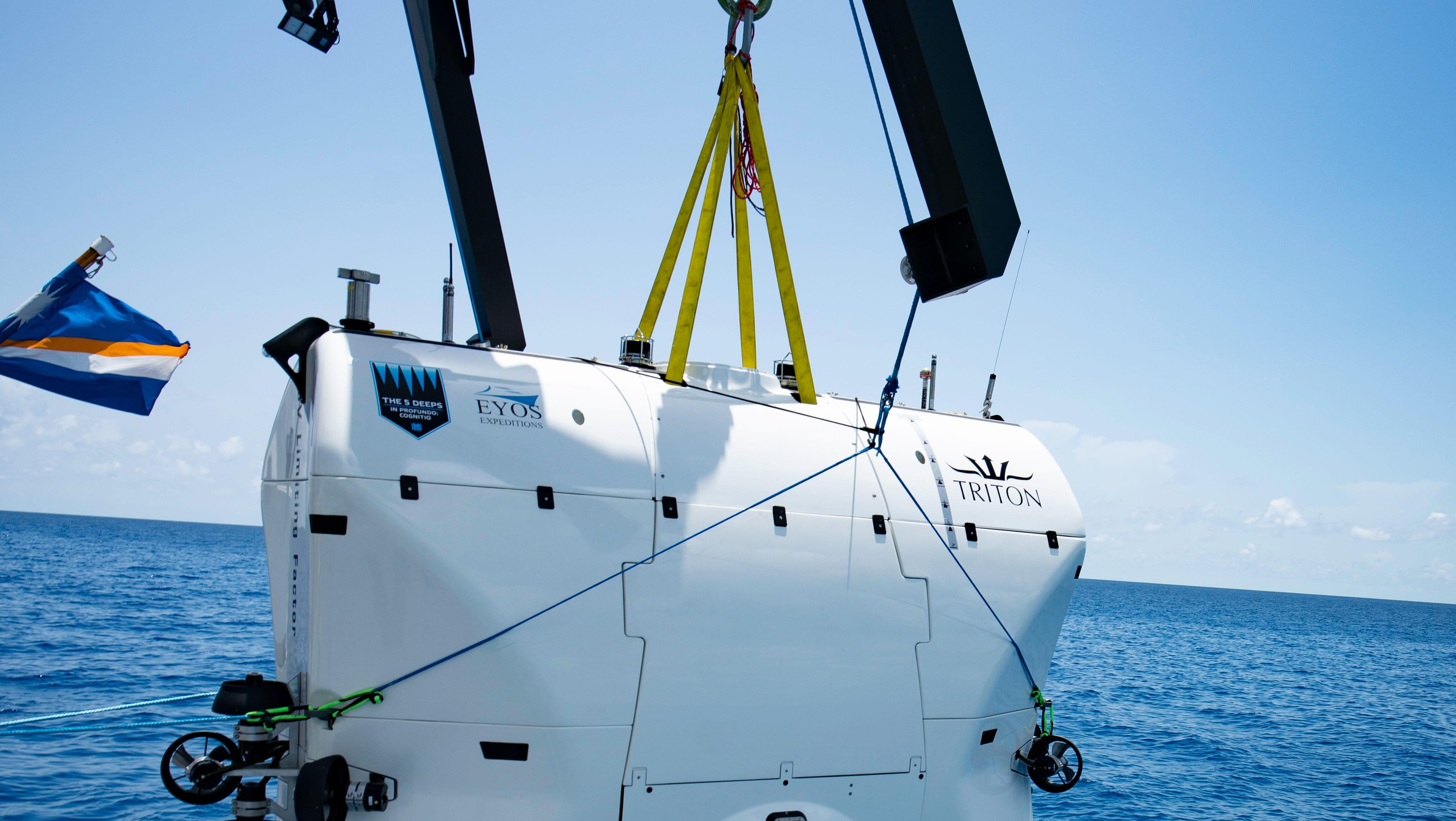 Going deep: Triton Subs diving to ocean's depths