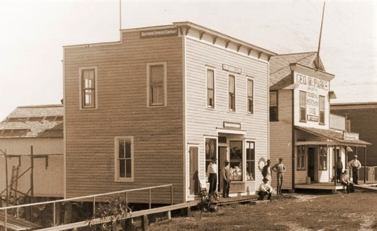 In the early 1900s, when it was determined that a hurricane was imminent, the telegrapher at the Florida East Coast Railway Station in Stuart would notify Stanley Kitching, who owned a store on Flagler Avenue opposite the depot. Kitching would then hoist a 'hurricane flag' at the nearby dock. This showed that a storm was probable, but not when it was likely to arrive nor wind strength.