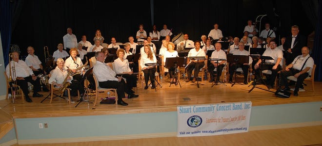 The Stuart Community Concert Band is under the direction of Jim LeBon and consists of volunteer musicians from all walks of life and of all age groups.