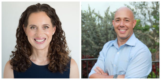 Lauren Baer and Brian Mast