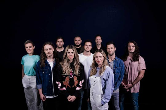 Hillsong Worship will perform Tuesday at Abundant Living Faith Center.