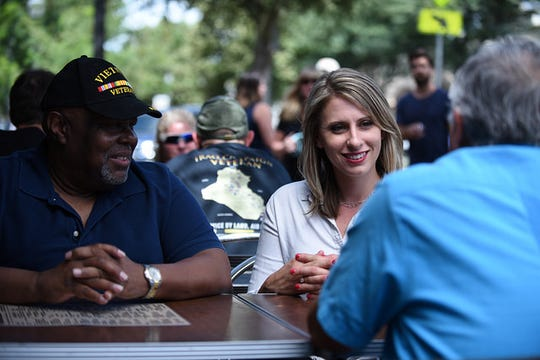 Congressional candidate Katie Hill has raised more than $6 million in her first run for office.
