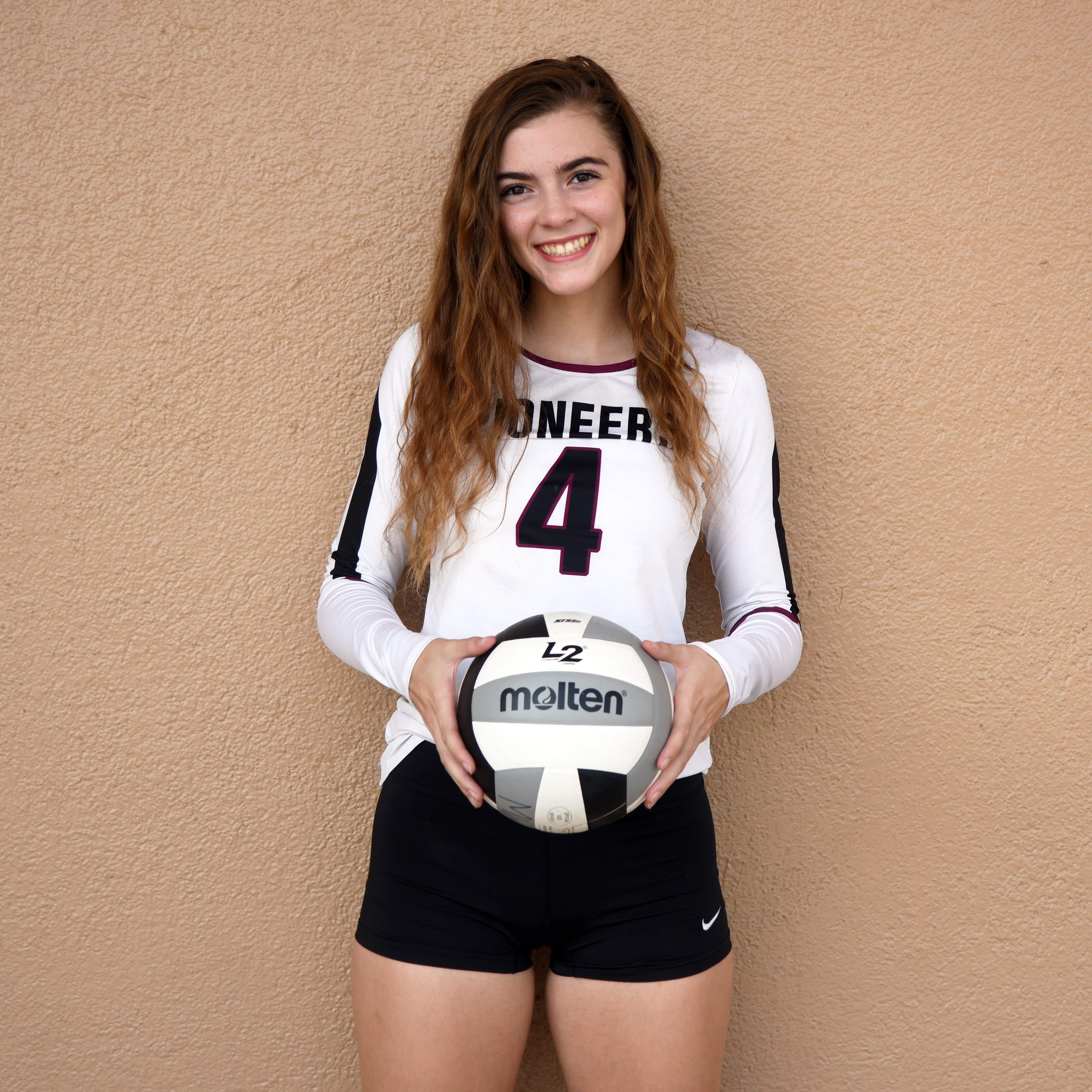 You voted. This Mt. Whitney volleyball player won.